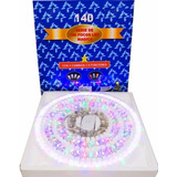 6 Serie Navideña 140 Focos Leds Multicolor $660 Mayoreo