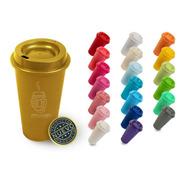 120 Vasos Reusables Para Cafe Starbucks