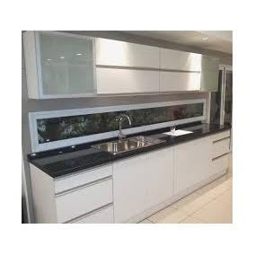 Muebles de cocina melamina modernos melamina y f rmica for Cocinas de 3 metros de largo