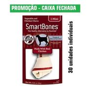Caixa Petisco Para Cães Smartbones Mini 30un Individuais 16g