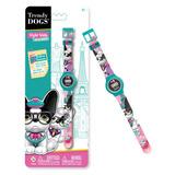 Reloj Pulsera Digital Infantil Trendy Dogs Original Intek