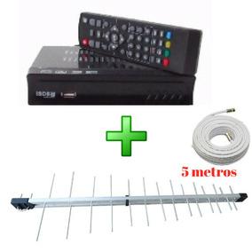 Aparelho Televisao Tv Transforma Sinal Analogico Em Digital