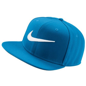 Gorra Nike Swoosh Snapback Azul Original