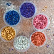 Perla Diamantada Sprinkles Cupcake Dulces Set De 6