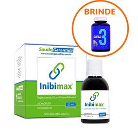 Tratamento Parar De Beber Inibimax + 1 Ômega 3 De Brinde!