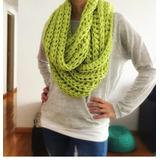 Cuello / Maxi Bufanda Tejida A Crochet