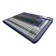 Mesa De Som Premium Soundcraft Sgnature 22 Canais Analógica