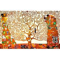 El Arbol De La Vida - Lienzo Sobre Bastidor - Gustav Klimt