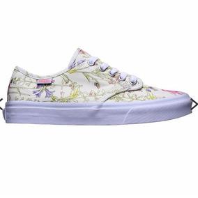 6177638533fff Zapatillas Blancas De Lona Para Pintar Mujer - Zapatillas Vans en ...