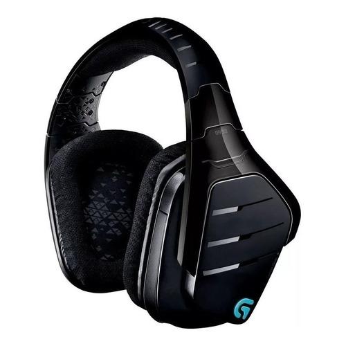 Auriculares gamer inalámbricos Logitech G Series G933 negro