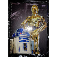 Caderno Universitario Escolar Star Wars 200 Folhas