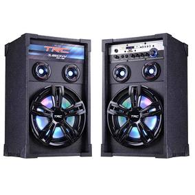 Caixa De Som Amplificadora Bluetooth 200w Trc - Trc 339