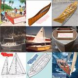 Planos Barcos Madera Canoas Cayak Velero Botes Yates Lanchas