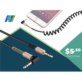 Cable De Audio Enrollable Havit 3.5mm Auxiliar Cb619x