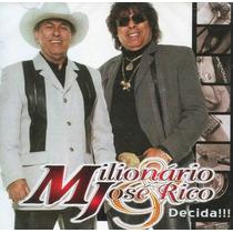 Milionário & José Rico - Decida - Vol.27 - Cd - Frete Grátis