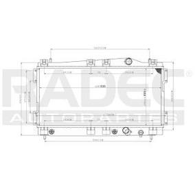 Radiador Dodge Neon 1995-1996-1997-1998-1999 L4 2.0 Lts Auto