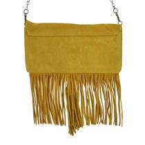 Bolsa Carteira Franjas Amarela