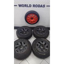 Jogo Rodas Triton L200 Aro 16 6x139 Com Pneus