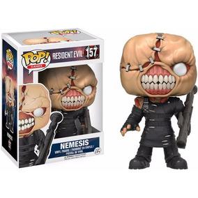Boneco Funko Pop Resident Evil - Nemesis Nº157