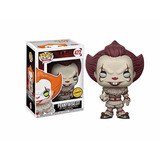 Pennywise With Boat Chase Funko Pop Retirado