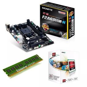 Combo Actualizacion Amd Apu A4 4000 + Gigabyte + 8 Gb Ram