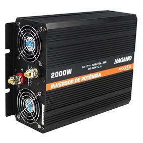 Inversor Transformador Conversor De Energia 2000w 12v 110v