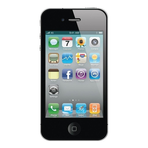 iPhone 4s 32 GB Preto 512 MB RAM