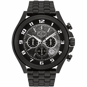 Reloj Harley Davidson 78b146 Tienda Oficial Bulova