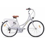 Bicicleta Retrô Mobele Oma Aluminio Com Marchas Vintage
