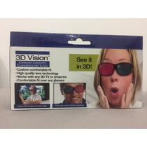 Deluxe Glasses 3d Vision Lentes 3d Rojo Y Verde Alta Calidad