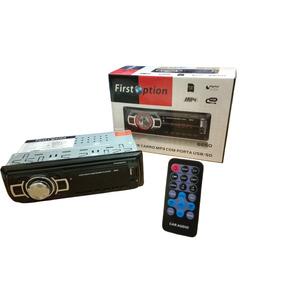 Aparelho Mp3 Carro Som Rádio Auxiliar Com Controle Usb Sd