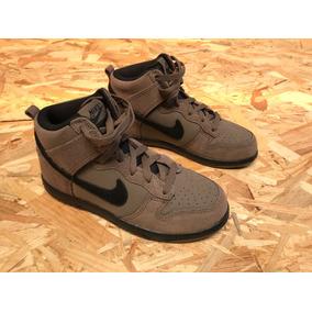 Tenis Nike Dunk High Black Mushroom 905353-203 Tall 3y 34-35 a0f83754eb253