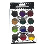 Polvo Para Uñas Efecto Terciopelo X 12 Colores Manicure