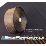 Cinta Termica Escudo Aislante Turbo Escape Fibra Carbono