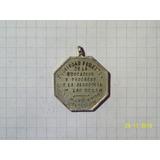 Medalla General Las Heras Sociedad Fomento 1908 8 Gr 28 Mm