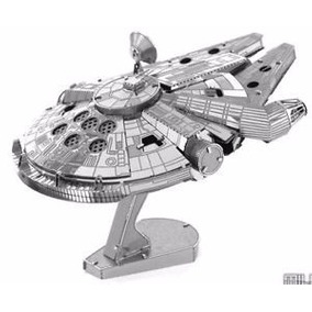 Frete R$ 8,00 Kit De Montar 3d Metal Star Wars Star Trek