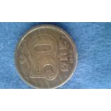 Moneda De Dinamarca De 50 Ore De 1989 { Vf }