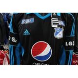 Camiseta Millonarios 2013 Visitante adidas Talla Xl Xdx