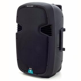 Caixa De Som Amplificada 300w Rms Bluetooth Multilaser Sp220