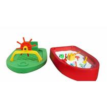Barco Brinquedo Infantil Freso Areia,aguá