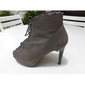 Sandália Modelo Ankle Boots Usada Salto Alto Balada