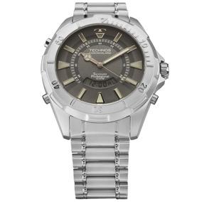 Relogio Technos Anadigi World Time Taquimetro Alarme + Nf - Relógios ... f88f0f7a79