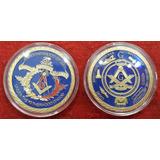 Monedas Masonicas Coleccion Escuadra Compas Sparta Ma