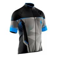Camiseta Ciclismo Refactor Venon Manga Curta Masculina Linda