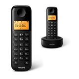 Telefono Inalambrico 6.0 Negro Philips