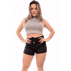 Shorts Tipo Moletom Moda Coloridos Promoçao