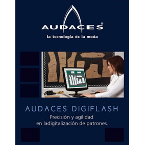 Audaces Vestuario 7 Patrones + Trazo + Digiflash / Español ®