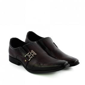 Sapato Social Masculino Em Couro Pegada 124405 - Coutope
