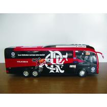 Miniatura Ônibus Flamengo - Frete Grátis