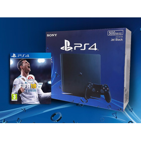 Playstation 4 Ps4 Slim 500gb Fifa 18 Nueva Devotostore